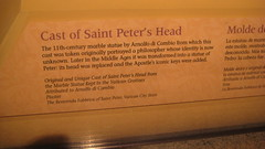 Cast of St.Peter's head... (goldiesguy) Tags: vatican statue museum artwork statues ronaldreaganlibrary vaticansplendors goldiesguy