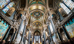 ...InsideTheChruch... (7H3M4R713N) Tags: city france lyon wideangle chruch fujifilm glise eglise fourvire notredamedefourvire xt1 1024mm