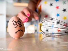Cocinera - Cook (marujageek) Tags: food advertising publicidad comida egg humor cook challenge huevo reto cocinera fotoquinto