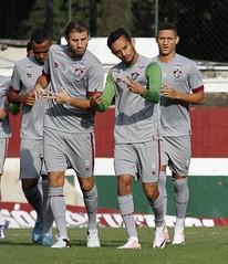 Fluminense 09.06.2016 (Fluminense F.C.) Tags: brincando sorrindo treinando