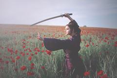 Mei (Pauline L photographe) Tags: geisha poppies coquelicots lesecretdespoignardsvolants sabre fairydream fairy fineart fineartphotographer fineartphotography flowers france canonfrance canon7d