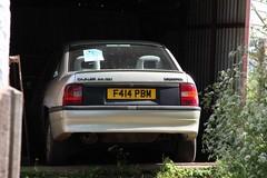 F414 PBM (Nivek.Old.Gold) Tags: auto cd cavalier 1989 vauxhall 5door 20i
