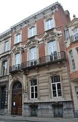 Architectenwoning Louis Van Arenbergh, Leuven (Erf-goed.be) Tags: leuven geotagged vlaamsbrabant archeonet architectenwoning geo:lon=47082 fakbarletteren geo:lat=508773 louisvanarenbergh
