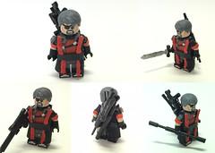 Custom Lego Deathstroke For Mr Begotes Contest (bossbricks) Tags: life lego ds changing custom deathstroke bossbricks