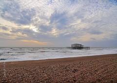 This is Brighton! (Ligia M Lo Re) Tags: uk travel sea england seaside brighton sandra unitedkingdom canon5d wintertime brightonbeach brightonpier markiii ilovebrighton
