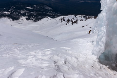 Topping out (kerns.nathaniel) Tags: mountain glacier climbing cascades mountaineering shasta hood