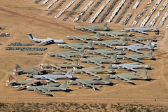 Area 26 - Aerospace Maintenance and Regeneration Group (AMARG), Davis-Monthan AFB, AZ (David Skeggs) Tags: tucson aircraft military aeroplane usaf usn boneyard usairforce davismonthan amarc overflight masdc amarg davidskeggs