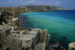 Ex Cave di tufo sull'isola di Favignana (giobertaskin) Tags: sea mare sicilia isola favignana tufo