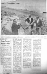 Dana Point Harbor time capsule, Los Angeles Times, Orange County Edition, 10-2-1968