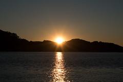 Sunrise over the water (Merrillie) Tags: sea sun mountain seascape nature water silhouette sunrise landscape outdoors photography bay nikon scenery australia nsw newsouthwales centralcoast daybreak waterscape woywoy d5500 nswcentralcoast centralcoastnsw