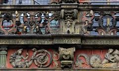 Rathaus Balcony (L'Oriol.) Tags: city town hall center bremen rathaus arquitecture