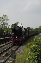 CJM_3199 (cjmillsnun@btinternet.com) Tags: heritage trains hampshire steam locomotive flyingscotsman steamlocomotive romsey nikond7000