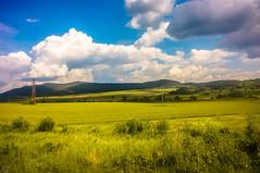 Landscape... (Hasan Yuzeir) Tags: blue summer sky cloud green nature field landscape phone samsung galaxy hasanyuzeir