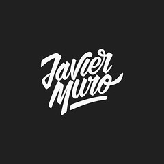 Javier Muro #Wip 3 (Abel Snchez.) Tags: logo typography design graphicdesign mark letters lettering calligraphy brand logotype