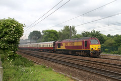 A dragged skip (Dan-Piercy) Tags: class67 skip 67022 chalonerswhin askham 1z46 crewe york charter ecml