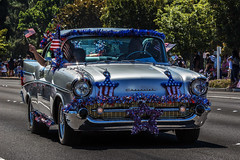 (Abel AP) Tags: car 57chevy 1957chevroletbelair 1957chevrolet parade 4thofjuly 4thofjulyparade america americanculture americanholiday usa fremont california
