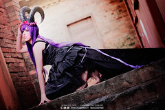 HORNS | model MICHII (CAA Photoshoot Magazine) Tags: portrait woman girl beauty dark eos rebel model tales wordpress gothic goth horns fantasy portraiture horn conceptual ichi ronaldo mystic faun xsi horned caa featured 500px