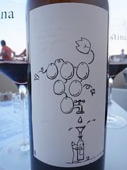 Stina Winery bottle drawing (20denier) Tags: illustration bottle label croatia winery bol stina bra