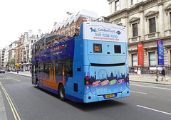 GT 126 - BD16YEC - NSR - PICCADILLY - SUN 3RD JULY 2016 (Bexleybus) Tags: bus london golden open top tourist tours 126 piccadily siteseeing mcv evositi bd16yec