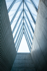 Trilux (Martin Fagers) Tags: architecture oslo abstract blue