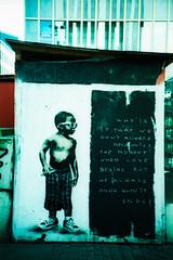 by L.E.T. (somekeepsakes) Tags: streetart film analog germany deutschland lomo xpro crossprocessed europa europe kodak urbanart analogue dsseldorf let 2012 ebx kodakelitechromeextracolor100