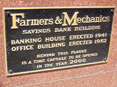 Farmers & Mechanics Savings Bank Building, Minneapolis, MN (Robby Virus) Tags: building art minnesota architecture plaque farmers minneapolis bank moderne deco mechanics streamline