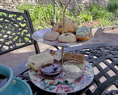 Tea at the Cotswold Cottage (Maia C) Tags: food tea greenfieldvillage maiac hfmgv sonydschx1