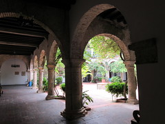 Arcade in cloister, Convento de La Popa, Cartagena, Colombia (Paul McClure DC) Tags: architecture colombia historic bolvar monastery cartagena june2016