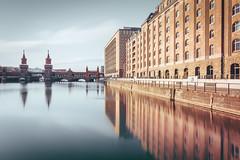 Oberbaumbrcke | Berlin, Germany 2016 (philippdase) Tags: longexposure bridge winter berlin water architecture nikon fineart spree friedrichshain oberbaumbrcke nd16 nikond7100 formatthitech sigma1835mm18 philippdase