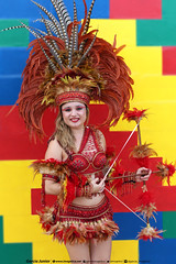 "My wife in cultural manifestation in So Lus MA Brazil. (Garcia ""Imagtica"" Junior) Tags: brazil brasil dana cultura regional maranho nordeste orquestra sojoo festajunina folclore bumbameuboi ndia solus"