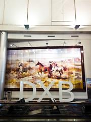 Flying Horses (StefoF) Tags: airport eau dubai gulf uae aeroporto emirates dxb emirati 1dxb