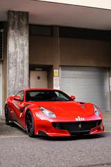 F12 TDF (nyexoticcars) Tags: london ferrari tourdefrance limitededition supercars f12 v12 tdf specialedition rossocorsa hypercars f12tdf 1of799