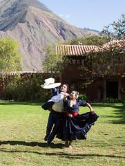 Peruvian Dancers - 1 (cheryl strahl) Tags: peru southamerica dancers traditional sacredvalleyoftheincas urubambavalley huayllabamba huayoccarihacienda haciendahuayllabamba orihuelafamily