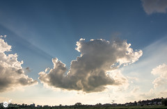 The sun always shines behind the clouds (Robert Stienstra Photography) Tags: cloud nature netherlands clouds landscape outdoors landscapes nikon outdoor wageningen skyscapes cloudscape cloudscapes dutchlandscape naturalforces cloudformations landscapephotography skyporn d7100 nikond7100 nikonnl