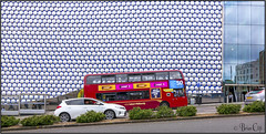 Moor Street (brianac37) Tags: england bus car birmingham busstop selfridges eastside moorstreet