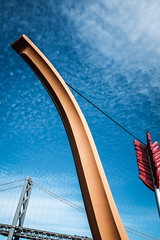 The Span (McFotoSFO) Tags: embarcadero sanfrancisco baybridge cupidsbow