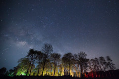 (PongsawatD) Tags: longexposure light sky tree nature night canon landscape star nightscape nightsky milkyway ef1635f28lii eos5dmkii
