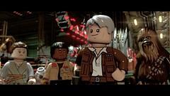 Only 7 more days... (The Brickbaron) Tags: game star starwars video lego space galaxy solo rey laser videogame spaceship wars finn han chewbacca blaster bb8