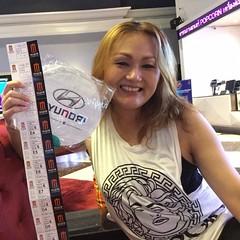 โว้ว ๆ ขอบคุณผู้สนับสนุนใจดี บ.เค.ที.ออโต้เซลส์ จก (Hyundai Showroom) #ubon & แฟนรายการน่ารักซื้อขนมมาฝากด้วย... กับกิจกรรม #SmoothMoviePlus ชวนดูหนัง #IndependenceDayResurgence @ MajorCinePlex CPN #อุบล ขอบคุณ ทีมงานคุณภาพ #Smoothradio90fm เจอกันครั้งหน้