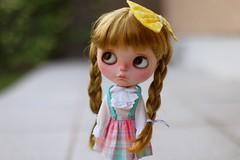 Brides girl. (El Reino Encantado) Tags: doll blythe blythedoll customblythe customblythedoll