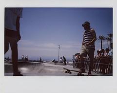 "Venice Skate Park  ""An Instant Series"" (edwardconde) Tags: california film skateboarding skaters venicebeach dogtown ipad instaxwide veniceskatepark myinstax editedontheipad edwardconde73 photographersontumblr fujfilminstaxwide210"