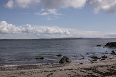 Islay 2016 2 (31) (Yorkshire Reckless & Proud) Tags: blue shadow sea people musician cloud sun lighthouse black bird beach birds silhouette vw landscape scotland boat ship harbour cottage sails tent islay seal duster van camper distillery orsay bowmore bruichladdich dacia