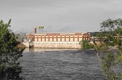NSP (Ryan Ojibway) Tags: wisconsin dam wi hydroelectric nsp chippewafalls chippewariver