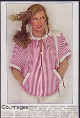 Courreges 1978 (moogirl2) Tags: vintage retro vogue 70s 1978 supermodels fashions 70sstyle vintageads albertwatson courrges pattihansen vintagevogue vintagecourrges