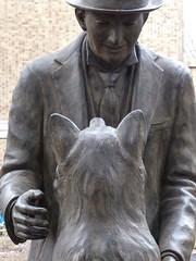 Hachiko III (Douguerreotype) Tags: city friends dog art statue japan tokyo memorial