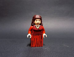 """Melisandre """"The Red Woman"""" (billbobful) Tags: lego game thrones throne got song ice fire mel melisandre stannis mannis baratheon red woman"""