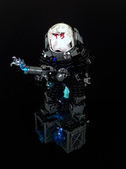 Mr. Freeze (Tim Lydy) Tags: lego mr collection freeze batman forms gotham 2016 brickworld