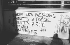 IMG_20160504_192708 (Cocomilie) Tags: wall graffiti anarchism nantes manifestation loitravail