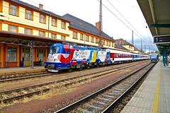 380 002-6 Ceska Trebova 15 Jun 16 (doughnut14) Tags: czech rail loco skoda ceska werbelok 3800026 sportujsnami