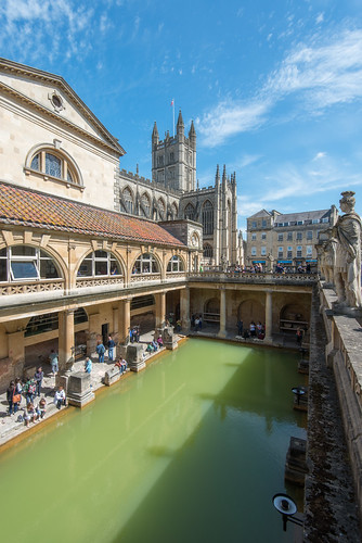 City of Bath - Roman Baths. Nikon D800 & 16-35VR